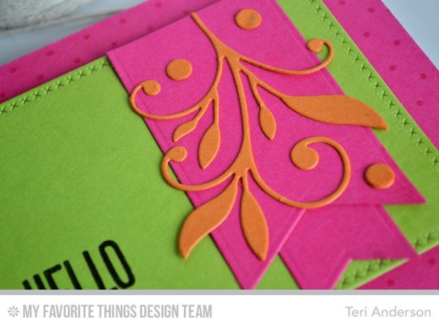 Hello Bold card by Teri