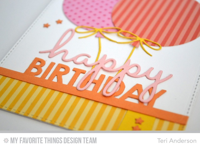 Happy Birthday Balloons by Teri