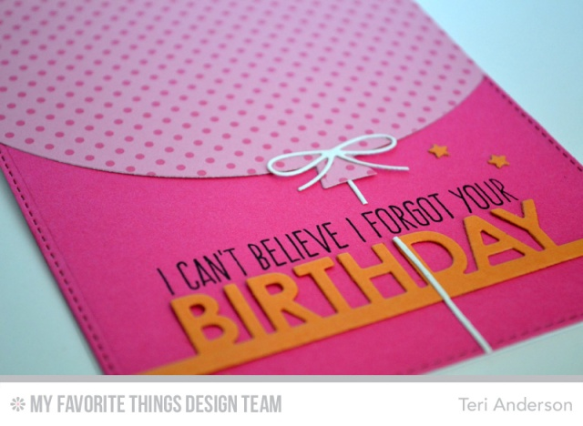 Forgot Your Birthday card by Teri