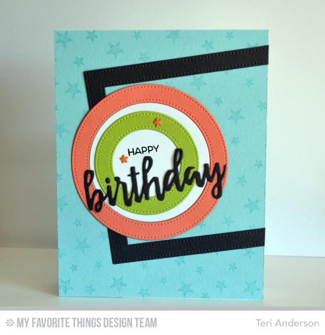 Birthday Circles by Teri