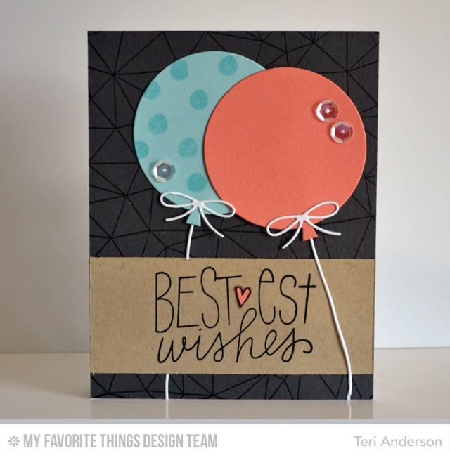 Bestest Wishes Balloons by Teri