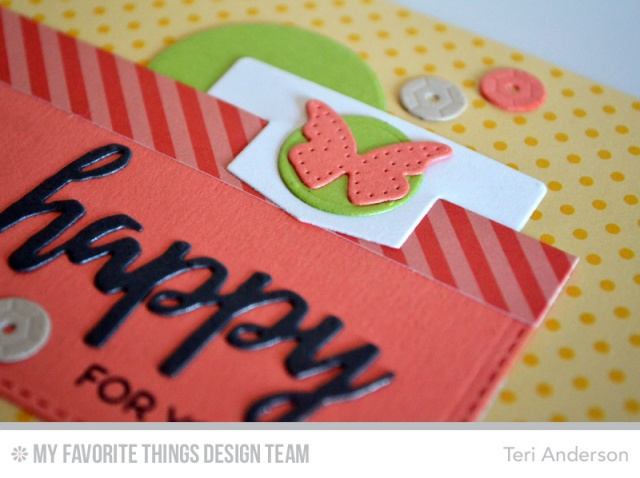 Happy for You card by Teri