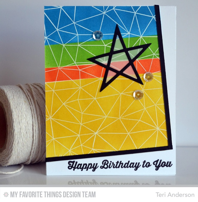 Birthday Star Card by Teri