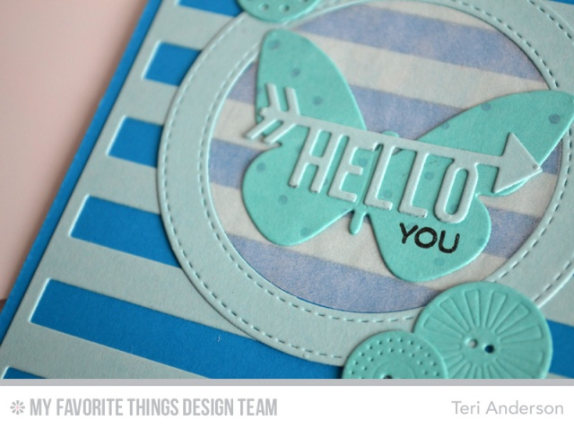 Hello You card by Teri