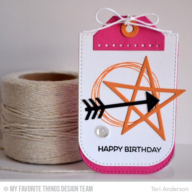 Happy Birthday Star Tag by Teri
