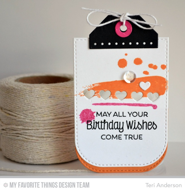 Birthday Wishes Tag by Teri
