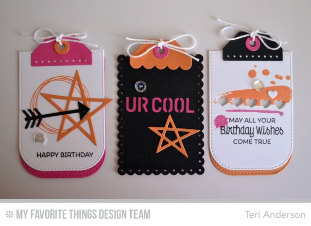 Birthday Tags by Teri