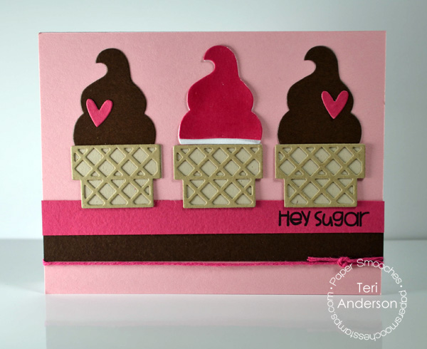 Hey Sugar card by Teri