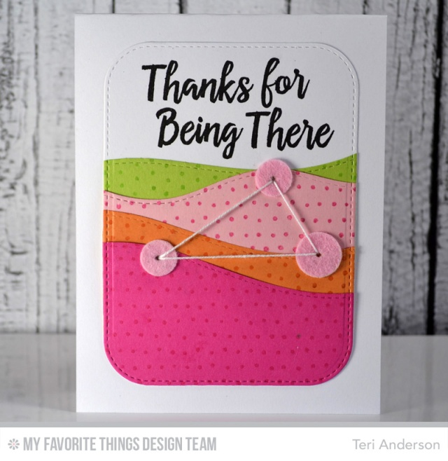 Thanks for being there by Teri