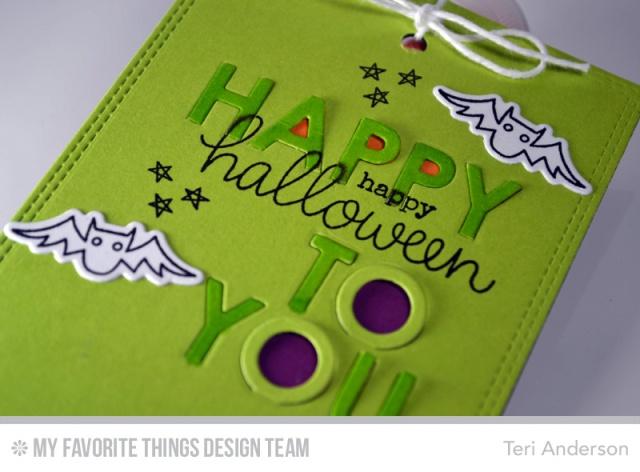 Halloween bats by teri
