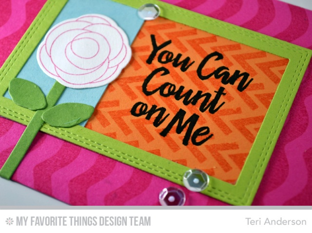 Count on Me card by Teri