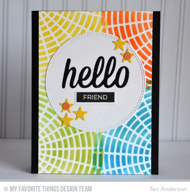 Hello Friend Circles by Teri