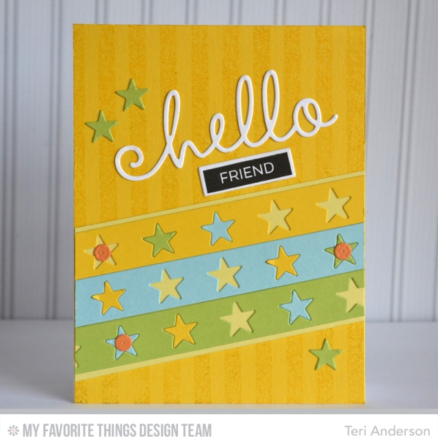 Hello Friend Stars by Teri