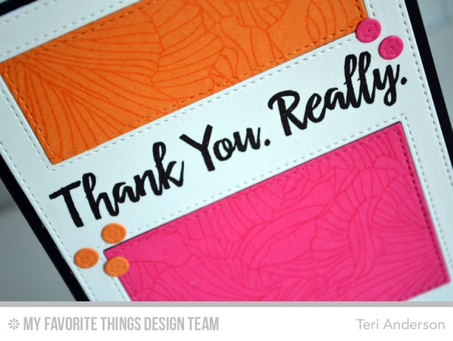 Thank You Really by Teri