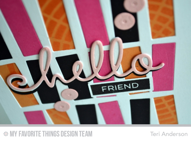 Hello Friend Retro by Teri