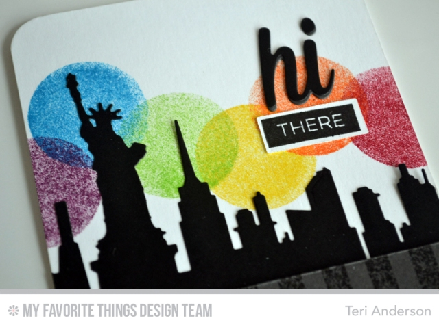 Hi There New York by Teri
