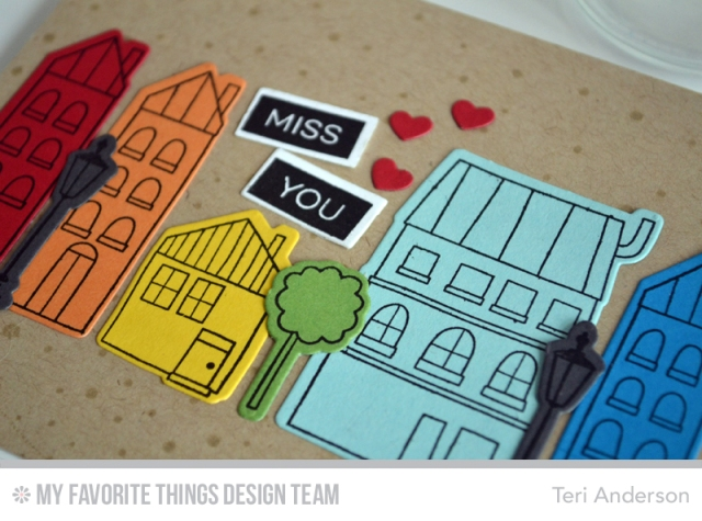 Miss You Houses by Teri