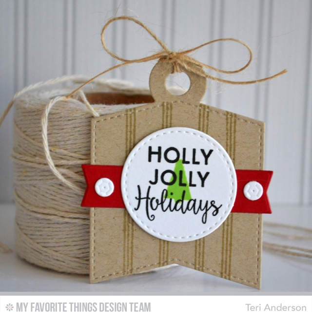 Holly Jolly tag by Teri