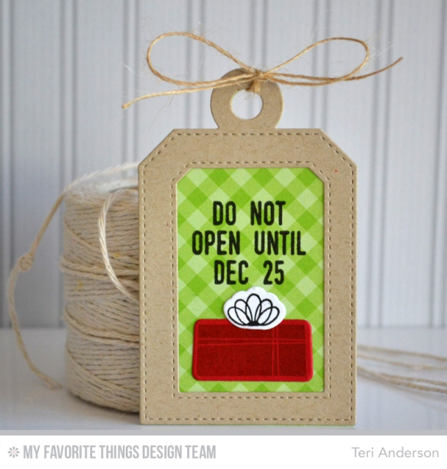 Do Not Open tag by Teri