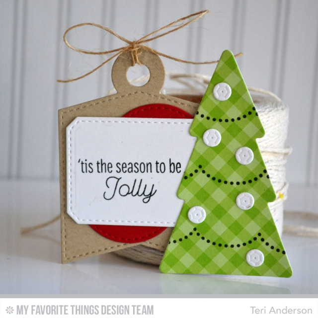 Jolly Tree tag by Teri
