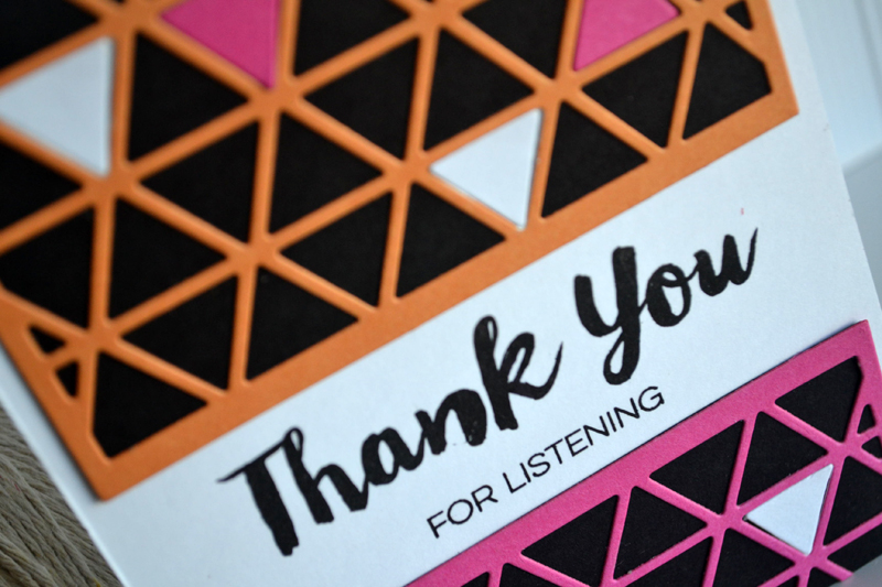 Thank You for Listening by Teri
