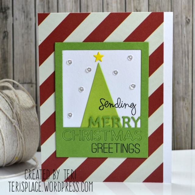 Merry Christmas Greetings by Teri