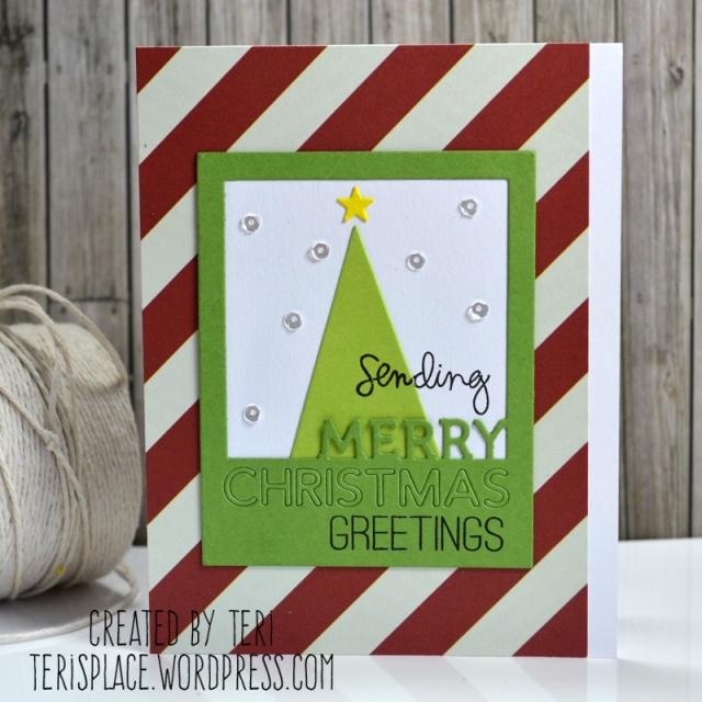 Merry Christmas Greetings by Teri