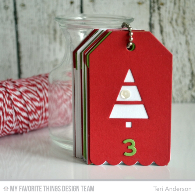 Advent Calendar book by Teri