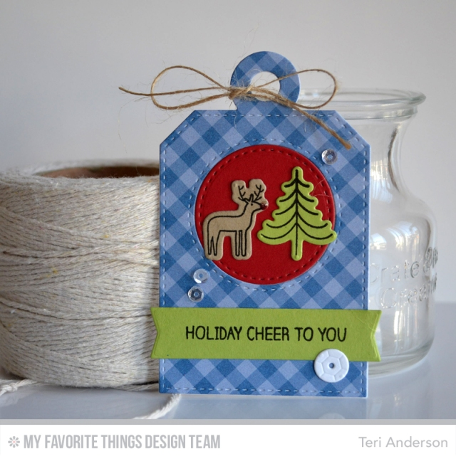 Holiday Cheer Tag by Teri