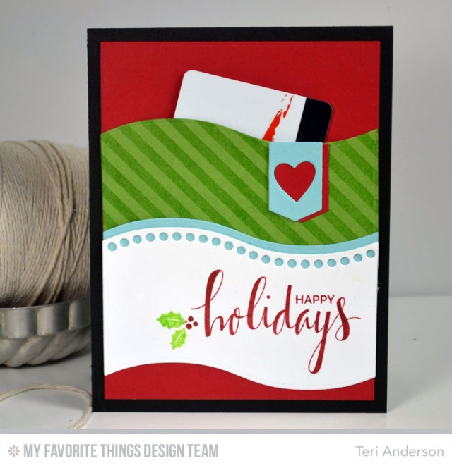Handmade Christmas Gift Card Holder