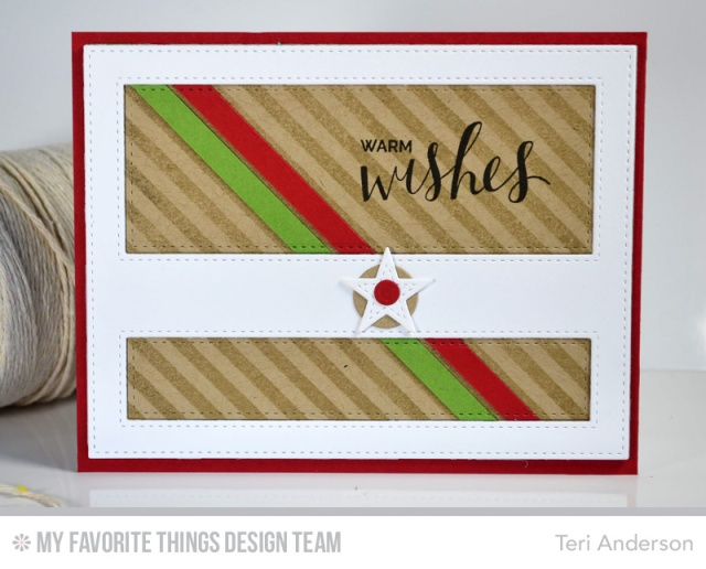 Clean + Graphic Warm Wishes by Teri