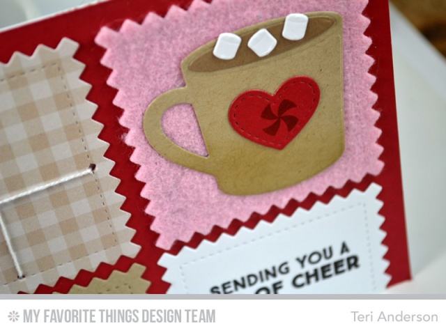 Cup of Cheer card by Teri
