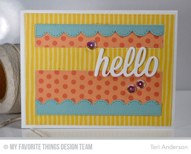 Hello Stripes by Teri