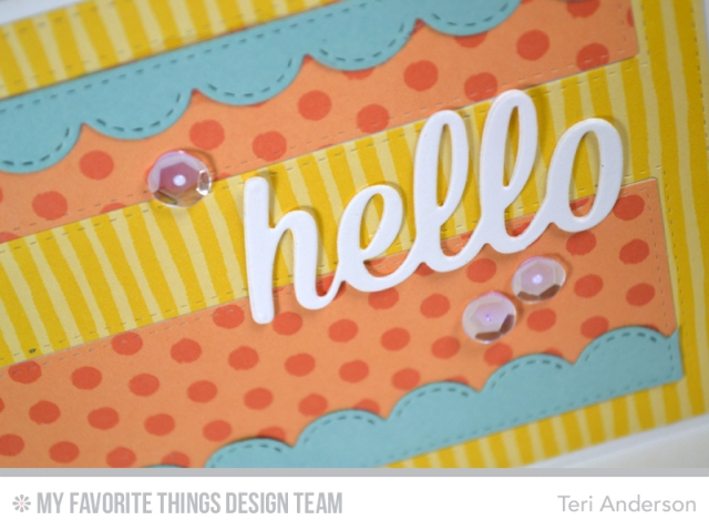 Hello Stripes by Teri
