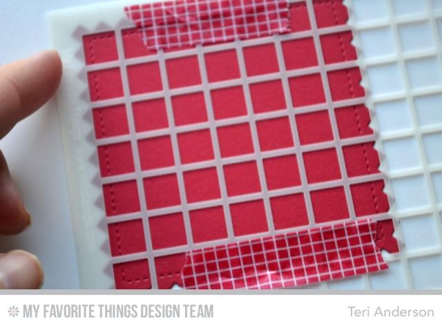 Grid stencil step 1