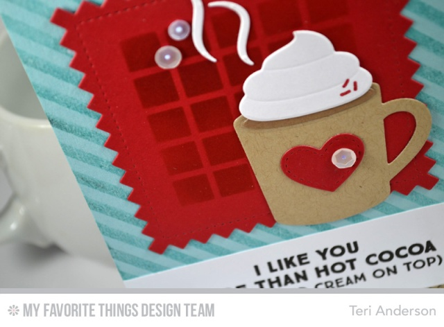I Like You card by Teri