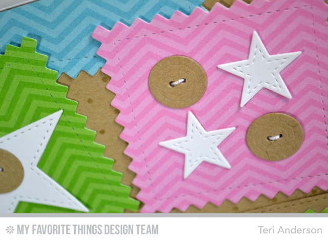One Stitch card by Teri