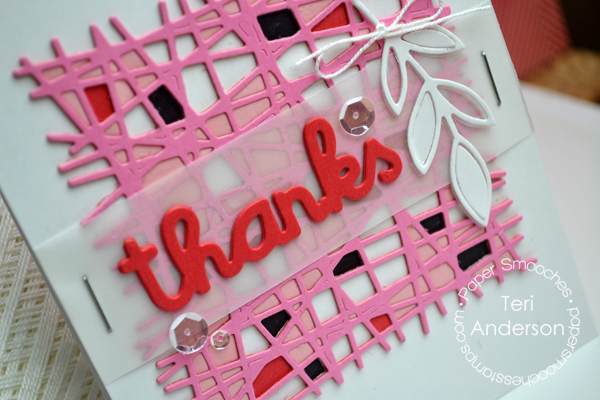 Thank You card by Teri