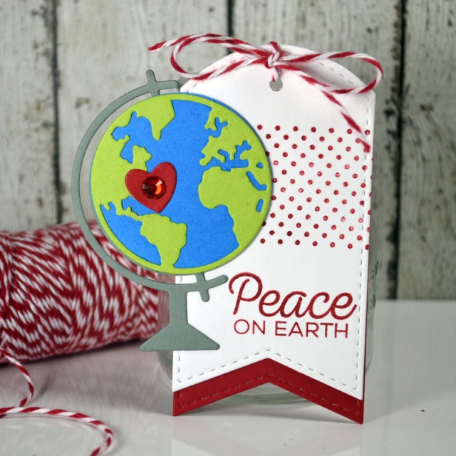 Peace on Earth tag by Teri