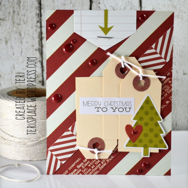 A handmade Christmas card // terisplace.wordpress.com