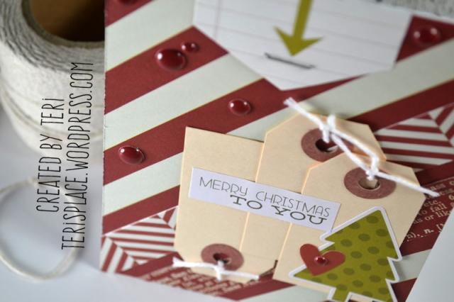 A handmade Christmas card // terisplace.wordpress.com