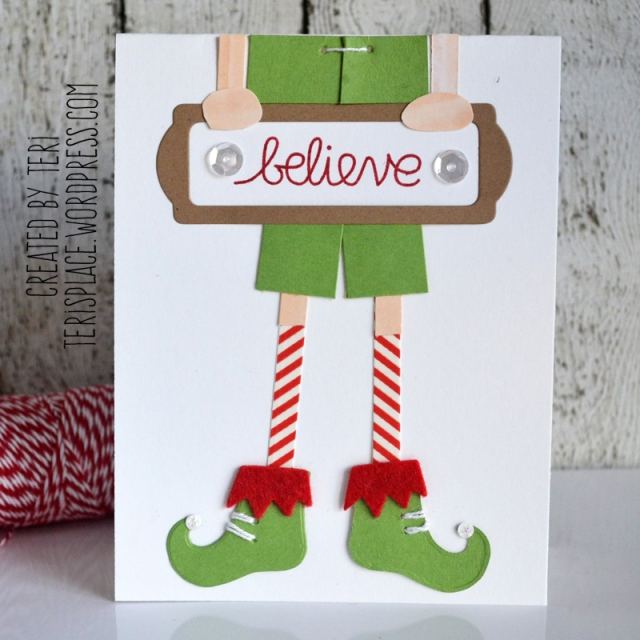 Believe Elf by Teri