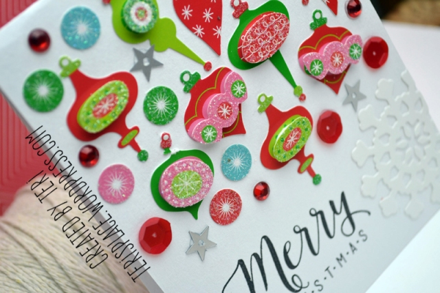 Handmade Christmas Card/Terisplace.wordpress.com
