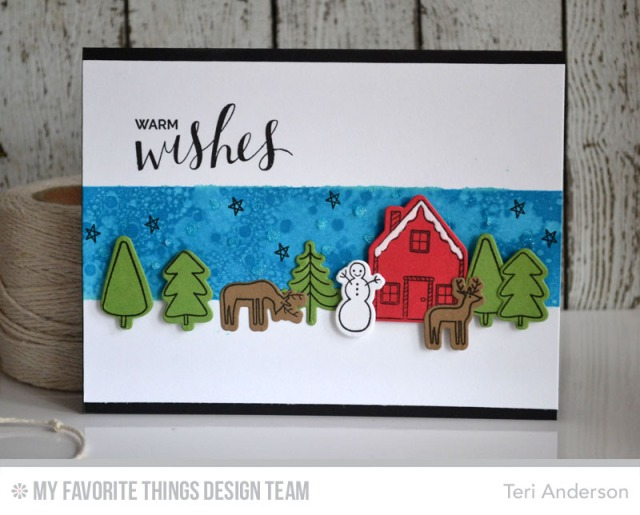 A handmade stamped card by Teri // terisplace.wordpress.com