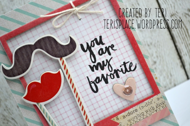 Favorite Love Card by Teri // terisplace.wordpress.com