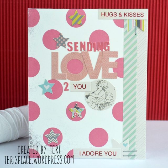 Sending Love card by Teri // terisplace.wordpress.com
