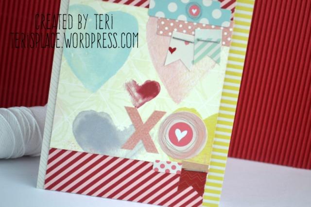 Xo Love card by Teri // terisplace.wordpress.com