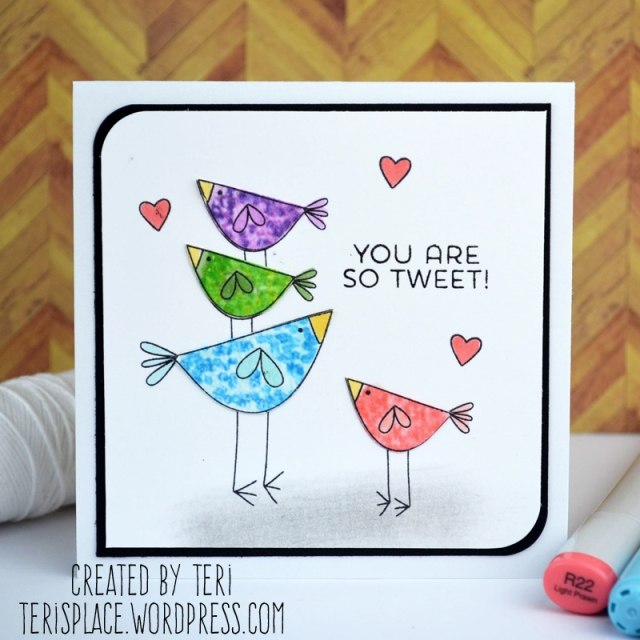 You're So Tweet by Teri // terisplace.wordpress.com