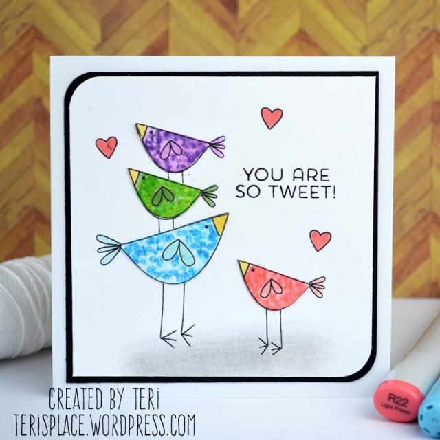 You're So Tweet by Teri // terisplace.wordpress.com