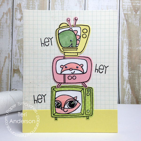 Hey Hey Hey handmade card by Teri //terisplace.wordpress.com